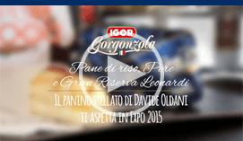 spot con lo Chef Davide Oldani ad Expo Milano 2015