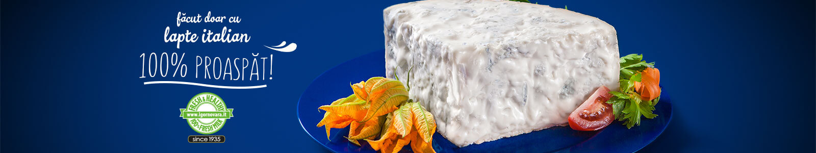 IGOR Gorgonzola Novara - 100% Fresh & Healthy since 1935