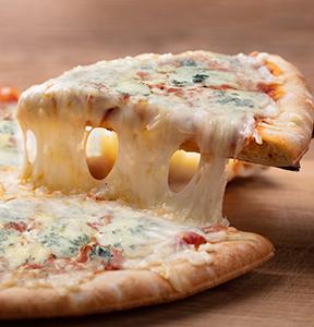 PIZZA MIT GORGONZOLA DOLCE IGOR