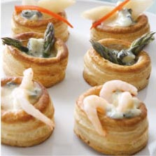 VOL AU-VENTS WITH TRIPLE GORGONZOLA FILLING